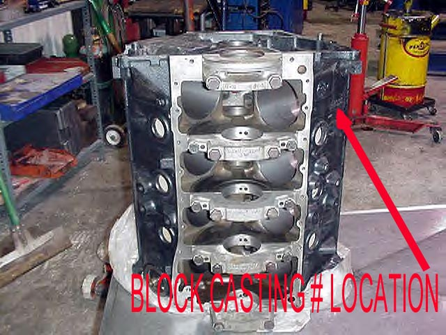 Blocknumber on Ford 460 Engine Block Casting Numbers