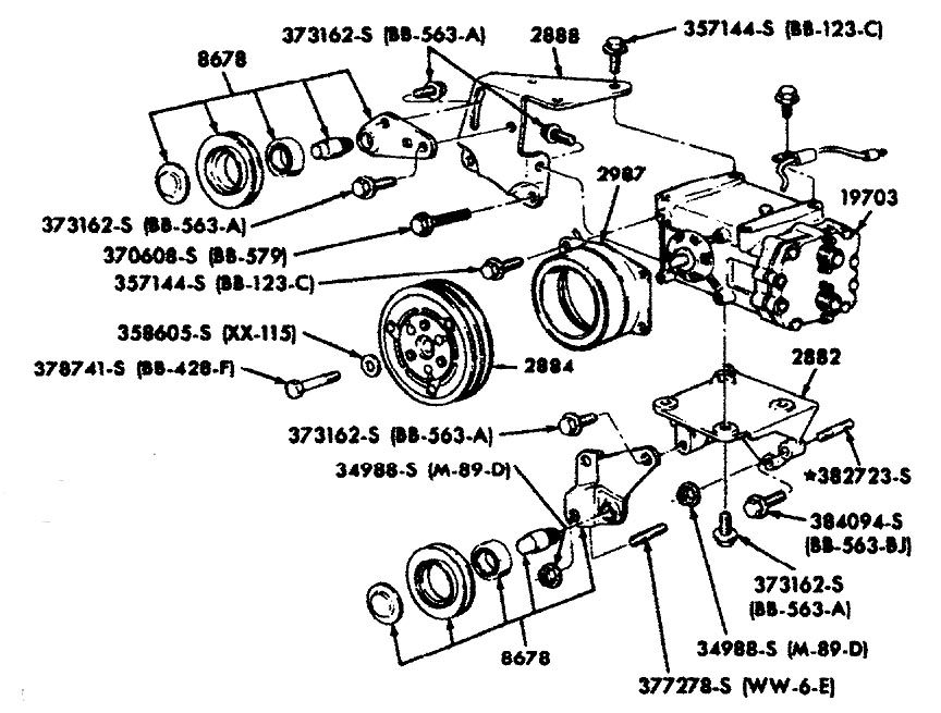 Honda 300 Trx Electrical Diagram moreover Ford F150 F250 Why Cant I Get Into Or Out Of 4wd 360779 likewise Car  pressor diagram likewise Civic Del Sol Fuse Panel Printable Copies Fuse Diagrams Here 1966666 together with Ubbthreads. on 2006 ford mustang ac wiring diagram