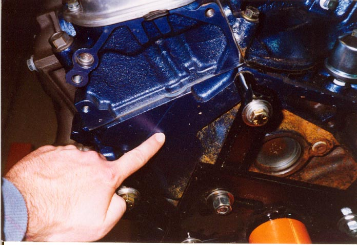 460 ford serial number location